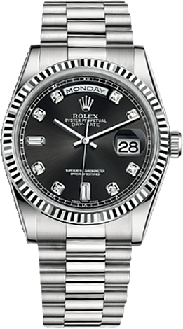 Rolex Day-Date 36 mm White Gold 118239-0089