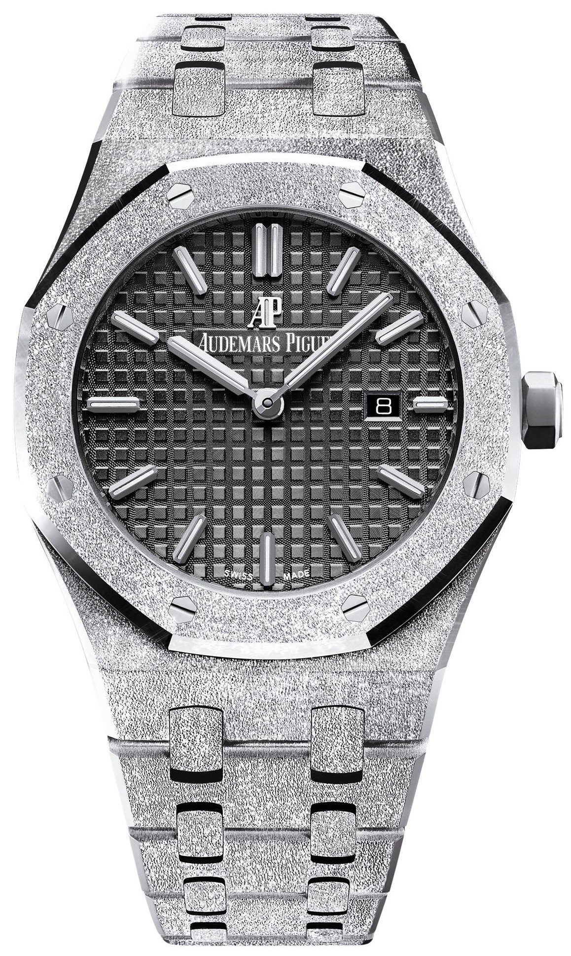 Audemars Piguet Lady Royal Oak Frosted White Gold 33mm 67653BC.GG.1263BC.02