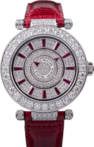 Franck Muller Double Mystery Ronde 42 DM D2R CD Ruby Croco