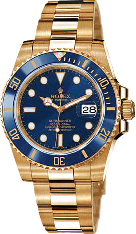 Rolex Submariner 40mm Yellow Gold Ceramic 116618LB