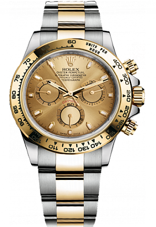 Rolex Daytona Cosmograph steel and yellow gold 116503-0003